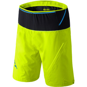 Dynafit Ultra 2-i-1 shorts Herrer, fluo yellow